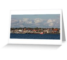 Yarmouth Waterfront Greeting Card