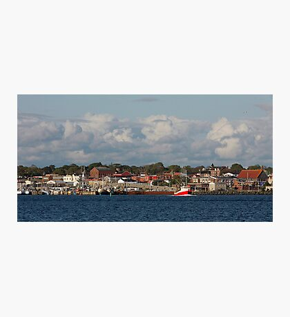 Yarmouth Waterfront Photographic Print