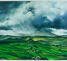Pendle Hill. Lancashire by jan farthing