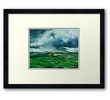Pendle Hill. Lancashire Framed Print