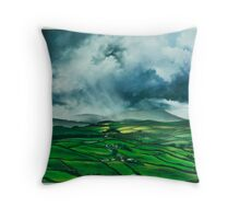 Pendle Hill. Lancashire Throw Pillow