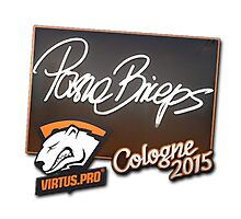 VP paszaBiceps Cologne 2015 Autogaph Sticker by BRPlatinum