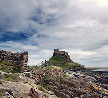 Holy Island Castle  by Nigel Bangert