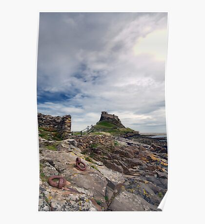 Holy Island Castle  Poster