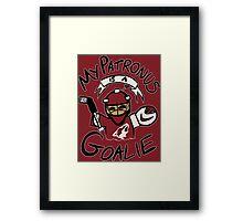 My Patronus is a Goalie (ARI Edition) Framed Print