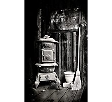 Porch Stove Photographic Print