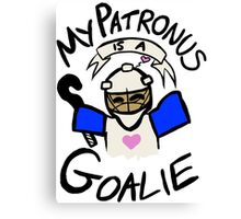 My Patronus is a Goalie (Field Hockey Edition) Canvas Print