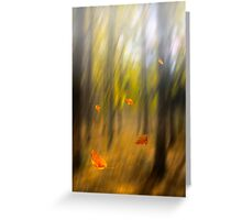 Shed leaves Greeting Card