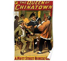 Poster 1890s  …trialsanderrors The Queen of Chinatown by Joseph Jarrow Broadway poster 1899 (2) Poster