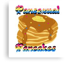 Pansexual Pancakes Canvas Print