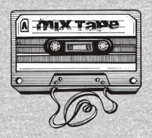 Mix Tape: Stuff To Dance To Kids Tee