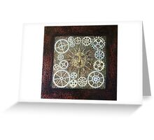 Sun dial Greeting Card