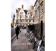 Bicycles on Broad Street Photographic Print