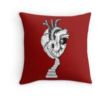 Counting the Steps To the Door Of Your Heart Throw Pillow