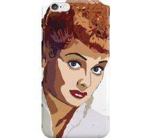 Lucille Ball-I Love Lucy iPhone Case/Skin
