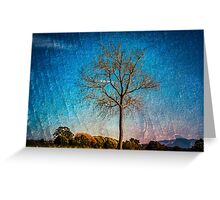 All Alone Greeting Card