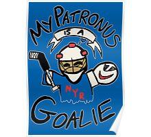 My Patronus is a Goalie (NYR Edition) Poster