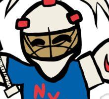 My Patronus is a Goalie (NYR Edition) Sticker