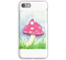 Watercolour Toadstool iPhone Case/Skin
