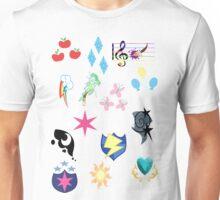 My Little Pony Cutie Marks Unisex T-Shirt