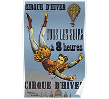 Poster 1890s Cirque d'hiver poster Poster
