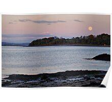Moonshine In Queensferry, Scotland, UK.... Poster