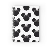 Princess Mouse Spiral Notebook