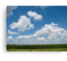 Iowa Plains Canvas Print