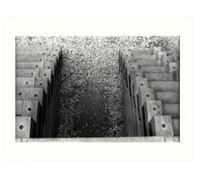 Dueling Staircase Art Print