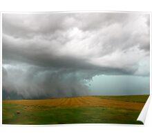 Stormclouds over South Dakota Poster