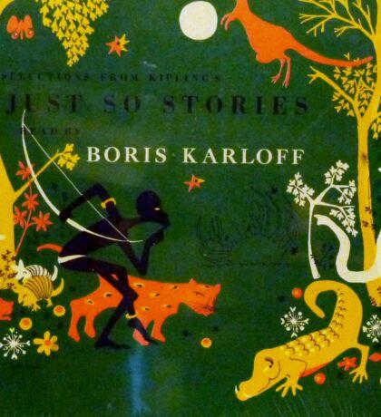 Boris Karloff Just So Stories Sticker