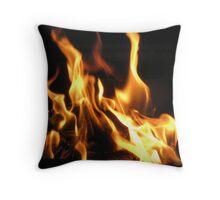 Fire Jig Throw Pillow