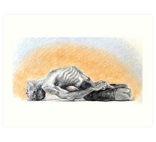 Mathsyasana- David Swenson Art Print