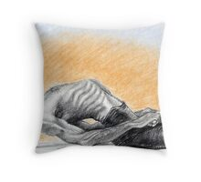 Mathsyasana- David Swenson Throw Pillow