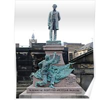 Scottish-American Soldiers Monument Poster