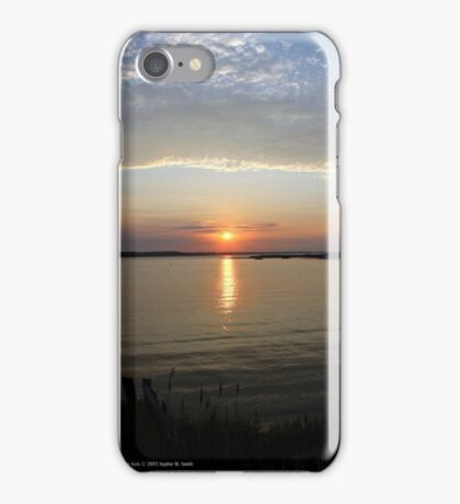 Sun | East Moriches, New York  iPhone Case/Skin