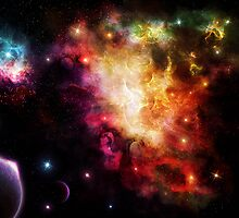 Exploding Nebula by charmedy