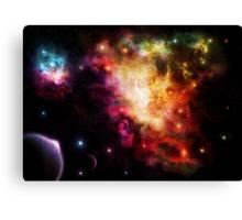 Exploding Nebula Canvas Print