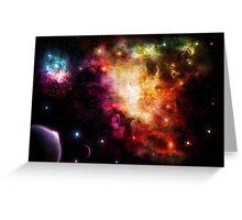 Exploding Nebula Greeting Card