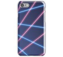 80s Laser Background iPhone Case/Skin