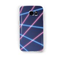 80s Laser Background Samsung Galaxy Case/Skin