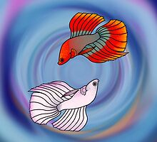 Betta Beauties by FinsArt