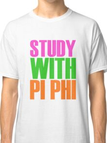 Study with Pi Phi Classic T-Shirt