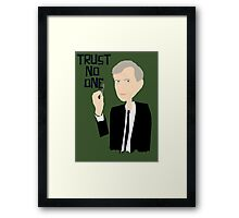 Trust Smoking Framed Print