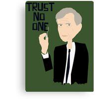 Trust Smoking Canvas Print