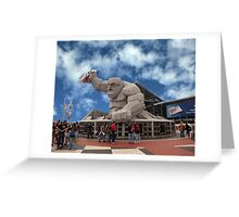 Miles The Monster Greeting Card