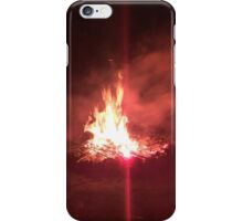 Fire and flares iPhone Case/Skin