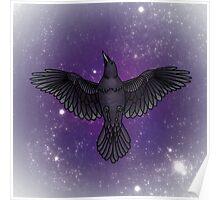 Cosmic Corvids Poster