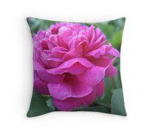 Adorned Rose Throw Pillow