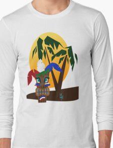 Patriotic Tiki Long Sleeve T-Shirt